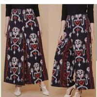 celana kulot ethnic batik wanita modern kain tenun jepara