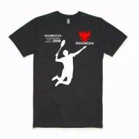 KAOS BADMINTON ASIAN GAMES 2018 HITAM