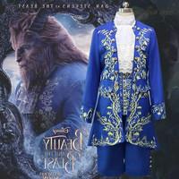Sewa kostum baju pangeran Beauty and the Beast film asli