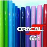 Bahan sticker merk oracal 651
