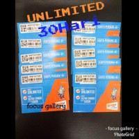 Kartu Perdana Kuota Bolt Unlimited Tanpa Batas Pemakaian ( 30 Hari )