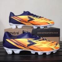 Sepatu Bola Mitre Flare FG Navy Hex Orange T01010014 O Berkualitas