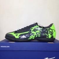 Sepatu Futsal Mizuno Ryuou IN Black Green P1GF179037 Or Murah