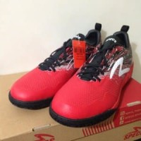Sepatu Futsal Specs Metasala Warrior Premier Red Black Murah