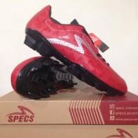 Sepatu Bola Specs Quark FG Chestnut Red 100757 Original Murah