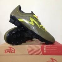Sepatu Bola Specs Quark FG Olive Zest Green 100828 Orig Berkualitas