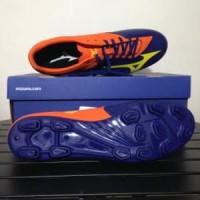 Sepatu Bola Mizuno Basara 103 MD Navy Orange P1GA176454 Diskon