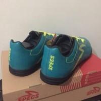 Sepatu Futsal Specs Quark IN Tosca Solar Slime 400758 O Berkualitas