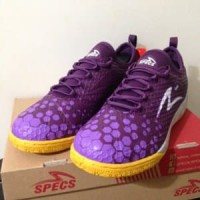 Sepatu Futsal Specs Metasala Knight Plum Purple 400734 Limited