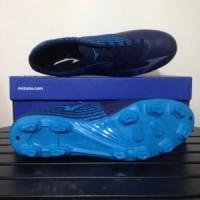 Sepatu Bola Mizuno Basara 103 MD Peacoat Blue Jewel P1G Limited
