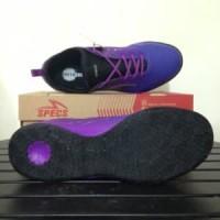 Sepatu Futsal Specs Metasala Musketeer Deep Purple Blac Berkualitas