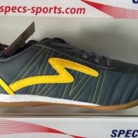 Trandy Sepatu futsal specs horus dark charcoal yellow 2015 original