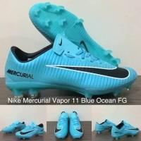 Sepatu Bola Nike Mercurial Vapor 11 Blue Ocean FG