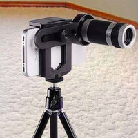 Lensa Telescope untuk Smartphone Satu set Tripod - Lensa Tele HP
