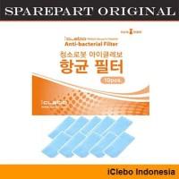 HEPA Filter iClebo Arte (10pcs) - ORIGINAL Sparepart