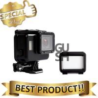 Touchscreen Waterproof Case 60m Untuk GoPro Hero 5-6