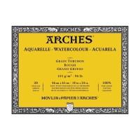 ARCHES Rough 185gsm 46x61cm Watercolour Paper Block