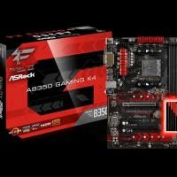 ASROCK FATAL1TY AB350 GAMING K4 AM4 AMD PROMONTORY B350 DDR4 USB 3 SAT