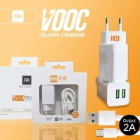 CHARGER XIAOMI VIVO ASUS OPPO VOOC FAST CHARGING 2AMPERE 2PORT USB