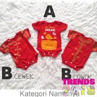 Baju Jumper Imlek Anak Bayi Laki-Laki Perempuan Cheongsam Chinese Year