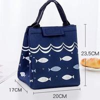 Lunch bag/coolar bag/tas bekal like tupperware