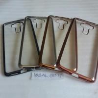 Case ASUS Zenfone 3 Laser ZC551KL List Chrome/TPU/Softcase Ultrathin