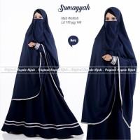 Baju gamis cadar sumayyah syari wolfis adem ori royal hijab