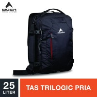 Eiger Navigator Exios Trilogic Bag 25L - Black / Tas Trilogic Pria