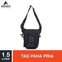 Eiger Legpack 7104 - Black / Tas Paha Pria