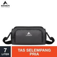 Eiger Ripstop Shoulder Bag 7L - Grey / Tas Selempang Pria