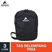 Eiger Travel Pouch Nomadic Tablet 7 inch - Black / Tas Selempang Pria