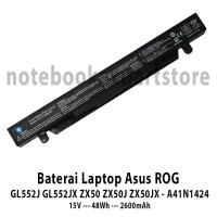 Baterai Laptop Asus ROG GL552 GL552J GL552 GL552JX ZX50 ZX50J ZX50JX