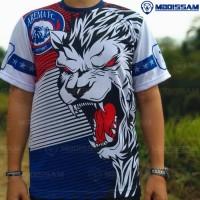Baju kaos jersey suporter Arema fc Aremania murah drifit mboissam