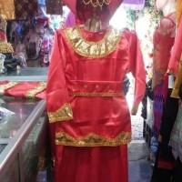 Baju adat padang anak perempuan S/M baju nusantara baju karnaval