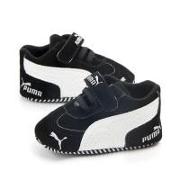 Pumaa Black Prewalker Shoes / Prewalker Bayi / Sepatu Bayi Murah