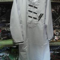 baju gamis. setelan koko anak putih murah bahan bagus murah terjangkou