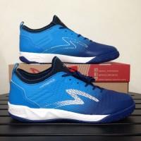 Sepatu Futsal Specs 400739 Metasala Musketeer Galaxy Blue Rock Blue Wh