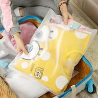 Zipper Storage Bag / Plastik Pelindung Baju L (35 x 45 cm)