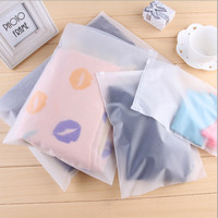 Zipper Storage Bag / Plastik Pelindung Baju M (28 x 40 cm)