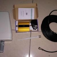 GSM Repeater 4G 1800Mhz Kualitas Bagus Dengan Antenna Log Periodik