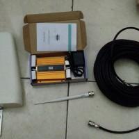 GSM Repeater 3G 2100Mhz Kualitas Bagus Dengan Antenna Log Periodik