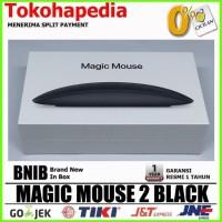 APPLE MAGIC MOUSE 2 Black Edition - Garansi Resmi Apple 1 Tahun
