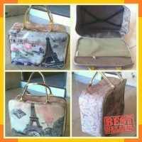 Tas Koper Travel Bag Karakter Super Kanvas piknik