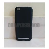 Case slim black matte xiaomi Redmi 5A / softcase back cover