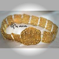 Ikat pinggang belt dewasa emas baju adat