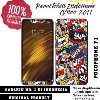 Garskin Skin Xiaomi Pocophone F1 Comic Art style for back case