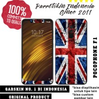 Garskin Skin Xiaomi Pocophone F1 England Union Jack for back case