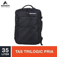 Eiger Nomad Stripes 04 Trilogic Laptop Bag 35L - Black / Tas Ransel