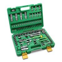 TEKIRO 1/4 INCH - 1/2 INCH SOCKET SET PLASTIK 94 PCS /KUNCI SOCK SET