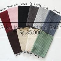 Inner Bandana Rajut / Ciput Bandana Rajut SOKA - Essentials Hijab SOKA